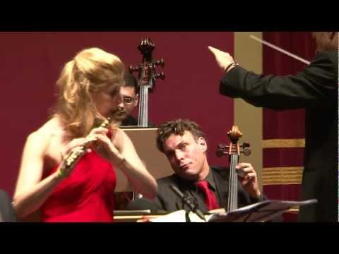 C. P. E. Bach: Andrea Loetscher, Flute (Part 1 - Allegro)