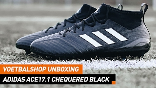 Voetbalshop unboxing | adidas ACE17.1 Chequered Black