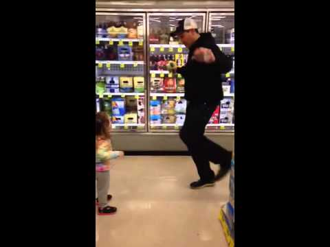 Dancing with Alison in rite aid
