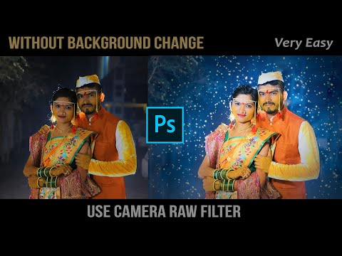 New Photoshop Editing Tutorial    How To Use Camera Raw Filter    Wedding Photo Editing