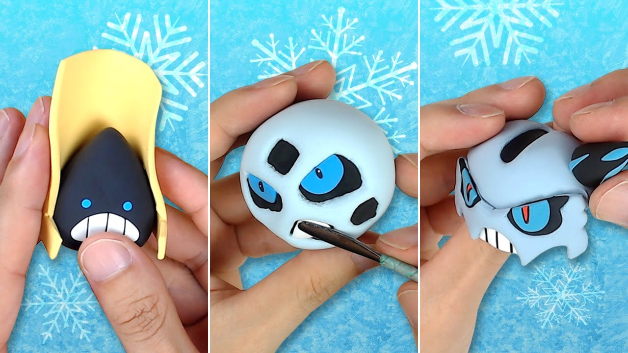 Download Pokémon Clay Art: Snorunt line!! Snorunt, Glalie, Mega Glalie Ice-type Pokémon!