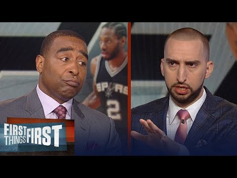 Nick and Cris talk Kawhi at Dodgers game, Is LeBron to blame for roster?   NBA   FIRST THINGS FIRST