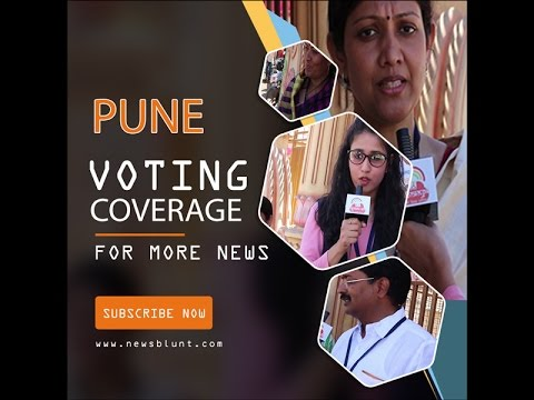 Newsblunt Voting Coverage From Pune