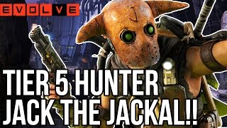 EVOLVE JACK GAMEPLAY - TIER 5 HUNTERS!! Evolve Gameplay Walkthrough - Multiplayer (XB1 1080p)