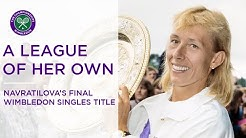A League Of Her Own | Martina Navratilova's final Wimbledon singles title