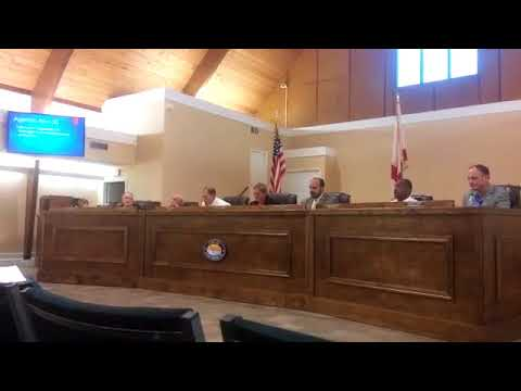 The Lynn Haven City Commission voted for the city manager, Joel Schubert, to recieve a 6 perce...