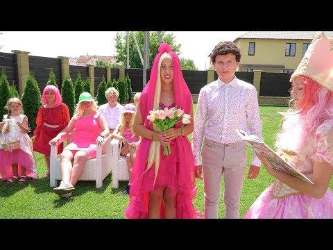 Барби НЕВЕСТА!! Кукольная Свадьба