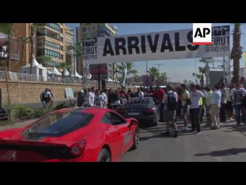 Beirut hosts super car race