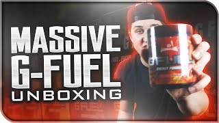 MASSIVE GFUEL Care Package Unboxing!