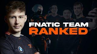 Fnatic Team Ranked