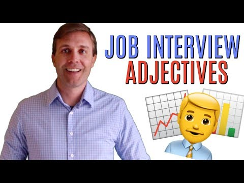 How To Describe Yourself In A Job Interview | 20 Awesome Adjectives