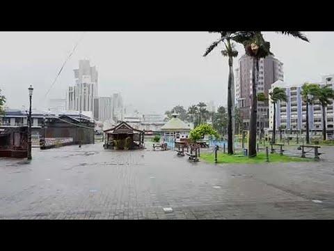 Nível de alerta elevado nas ilhas Maurícias com a chegada do ciclone Berguitta