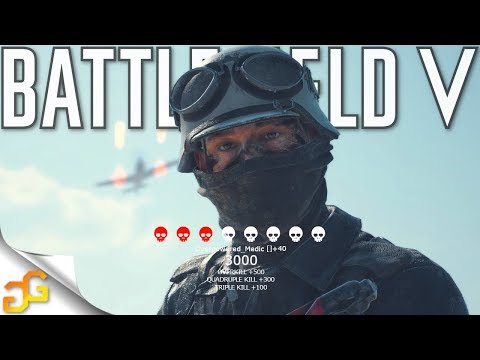 MEDIC guns are OVERPOWERED on this mode! Battlefield 5 thumbnail