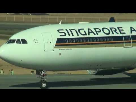 Singapore Airlines Airbus A330-343 , 9V-SSH,SQ997,RGN-SIN