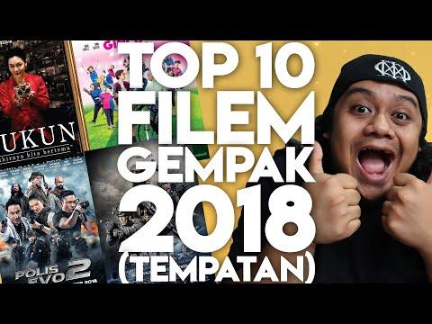 #ZHAFVLOG - DAY 362/365 - TOP 10 FILEM GEMPAK 2018 (Tempatan) | Malaysia Movie Review