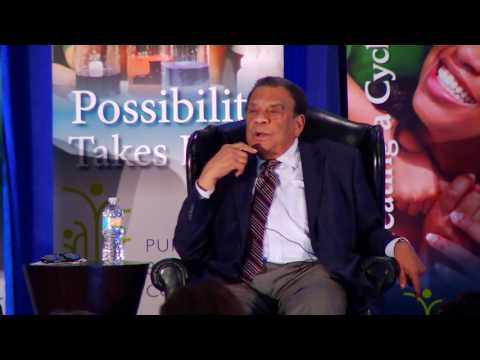 Ambassador Andrew Young at the Purpose Built Communities 2016 Conference