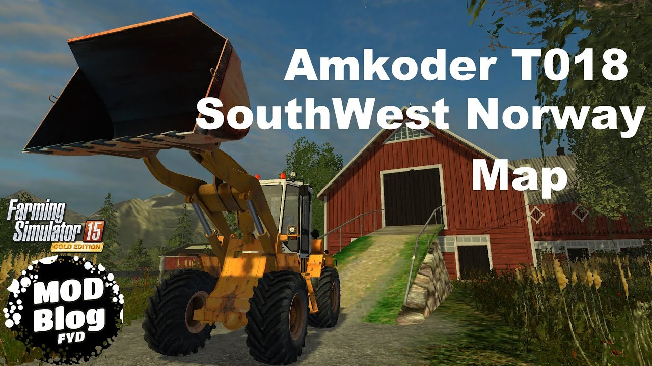 Fs Mod Blog SouthWest Norway Map Amkoder Loader YouTube - Norway map farming simulator 2015