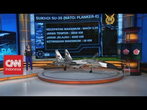 TNI AU Punya Pesawat Tempur Sukhoi SU-35, Seperti Apa Kecanggihannya?