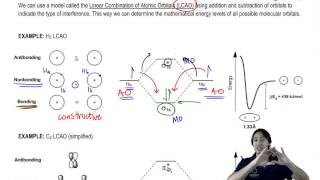 What's the difference between atomic and molecular orbitals