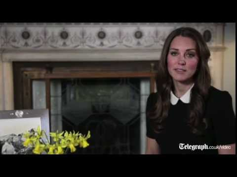 Kate Middleton delivers first video message