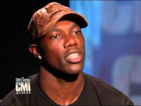 Chris Myers interviews Terrell Owens on CMI