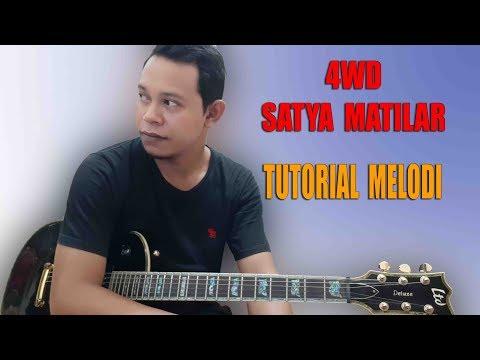 4WD Solo guitar tutorial - Satya Matilar