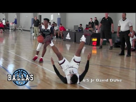 David Duke DROPS Defender - Mass Rivals 4-0 in Dallas Adidas Gauntlet 4years in a ROW!