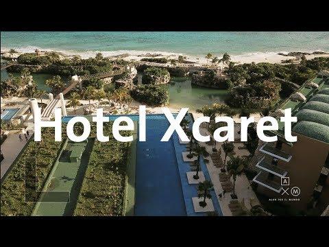 Este es el nuevo HOTEL XCARET   Alan por el mundo
