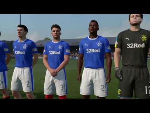 FIFA 17 Career Mode: Glasgow Rangers Recrowned - 21 - Hamilton Accies (A)