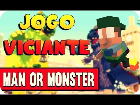 Игра Человек или Монстр 3д Man or Monster онлайн