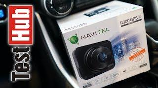 Navitel R300 GPS wideorejestrator - kamera samochodowa z GPS i ostrzeżeniami przed fotoradarami