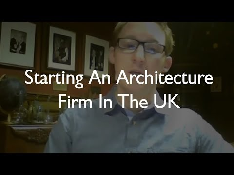 Starting an Architecture firm in the UK