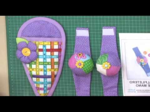 Sonia franco programa nuestra casa set de costura - Patchwork en casa patrones ...