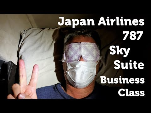 Japan Airlines 787 Business Class Sky Suites