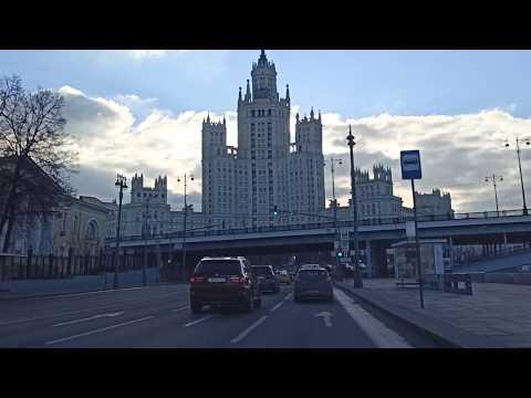 . Москва Центральная. Поездка на автомобиле. 18 марта 2020 г.