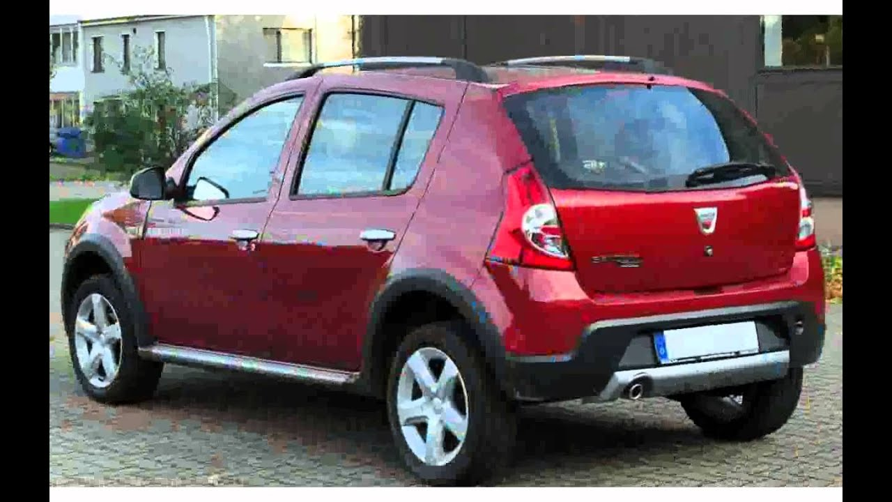 dacia sandero stepway hatchback stepway ambiance tce 90 new 2015 youtube. Black Bedroom Furniture Sets. Home Design Ideas