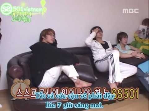[Vietsub] SS501 MBC Thank You For Waking Me Up Ep 3  Part 1/2