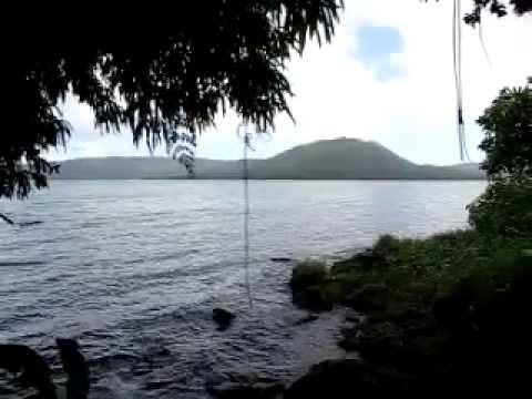Lake Letas, Mt Garat Volcano & Siri Waterfall Trekking on Gaua island, Vanuatu