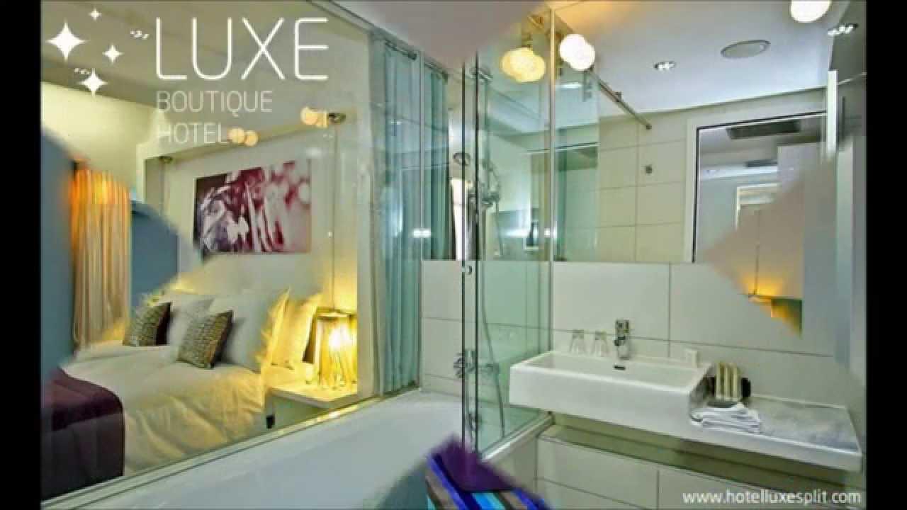 Hotel luxe split design boutique hotel 3 minuten von der for Hotel luxe design