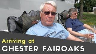Arriving At Chester Fairoaks Caravan And Motorhome Club Site | Meet Up Tour Pt9