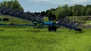 Lets Play Agricultural Simulator 2013 Episode 1 - Plowing