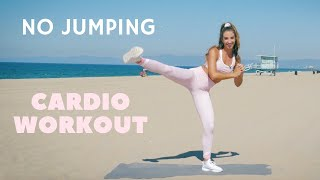 NO JUMPING Cardio Workout | Apartment + Dorm Room Friendly