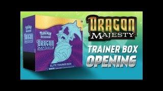 Pokemon TCG Majestät der Drachen Elite Trainer Box - Dragon Majesty Opening