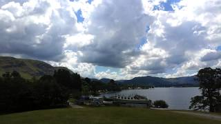 Ullswater waterside farm camping