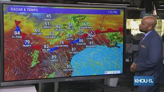 Severe Thunderstorm Watch for parts of southeast Texas