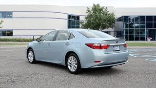 2013 Lexus ES300h - WINDING ROAD POV Test Drive
