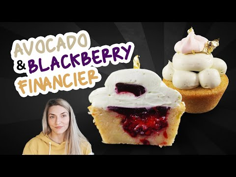 Avocado & Blackberry Financier Recipe