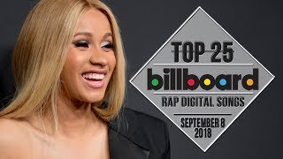Baixar Top 25 • Billboard Rap Songs • September 8, 2018 | Download-Charts