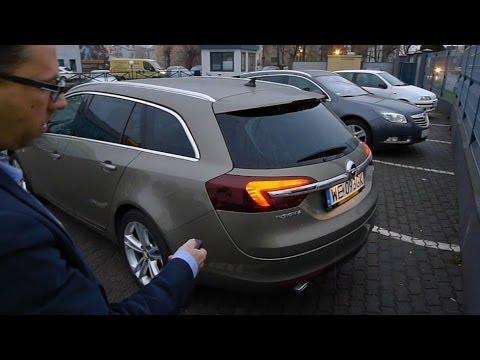 Opinie: Opel Insignia, top wersja   Dixi-Car