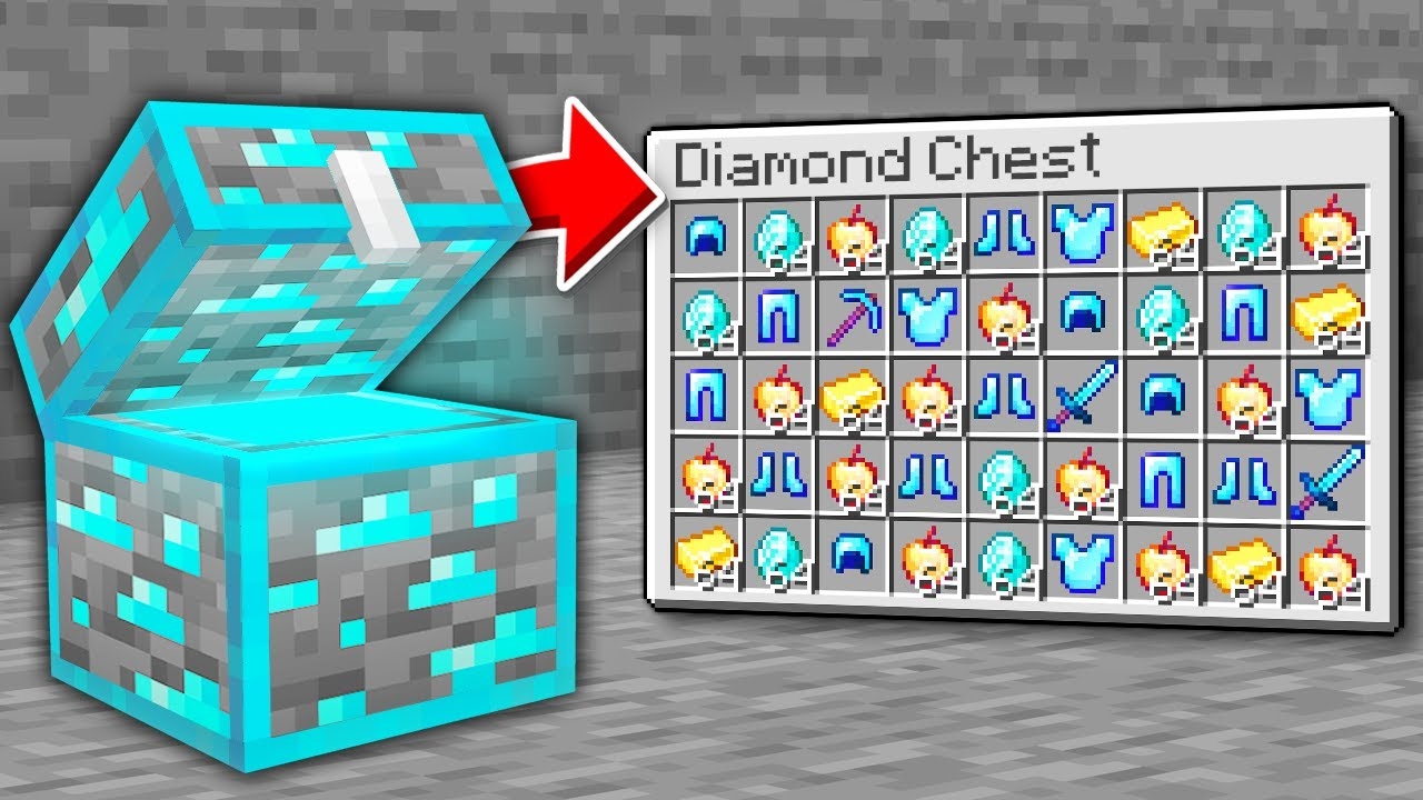 Minecraft, But There Are Custom Chests..